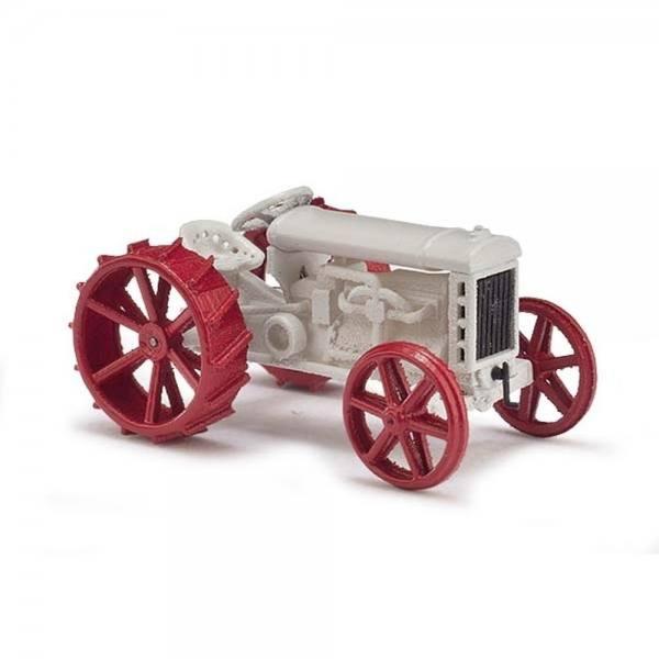59915 - Busch - Fordson Modell F Traktor (Baujahr 1917), weiß/rot