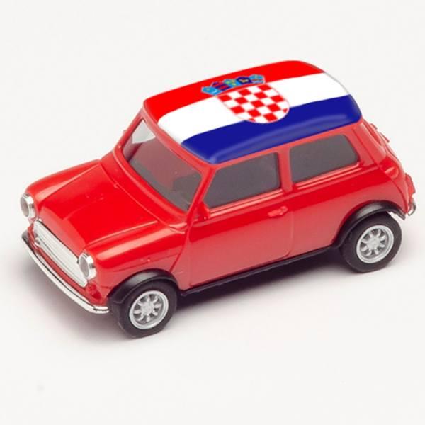 "420662 - Herpa - Mini Cooper, rot ""EM 2021 - Kroatien"""