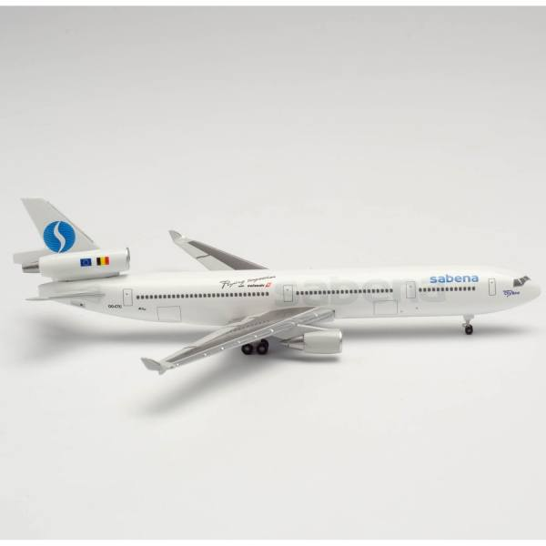 535588 - Herpa Wings - Sabena McDonnell Douglas MD-11F - OO-CTC -
