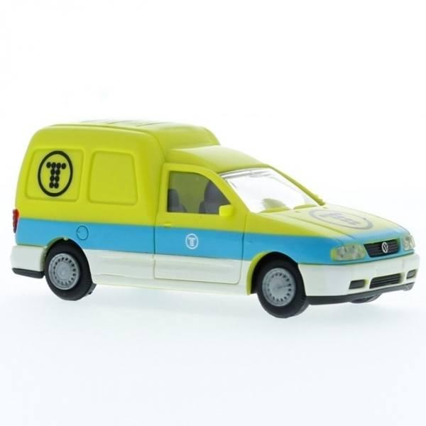 """30893 - Rietze - VW Caddy Kasten (1995-2003) """"Telefonica"""" ES"""