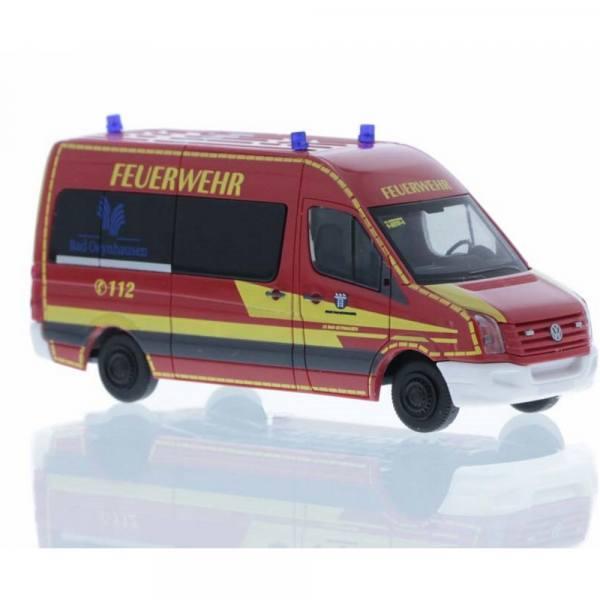 """53124 - Rietze - Volkswagen VW Crafter `11 Bus - MTW """"Feuerwehr Bad Oeynhausen"""""""