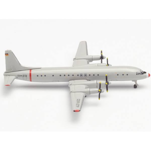 """533331 - Herpa - Interflug Ilyushin IL-18 """"Graue Maus"""" -Technische Prüfung-"""