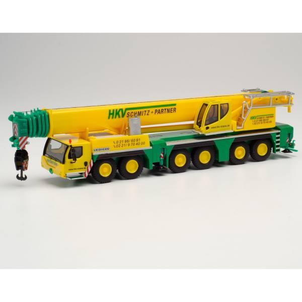 """312882 - Herpa - Liebherr LTM 1300-6.2 Mobilkran """"HKV Krane"""""""