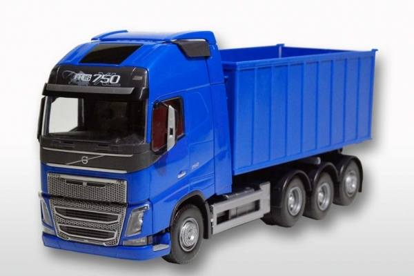 20854 - Volvo FH Abrollmulde groß   1:25