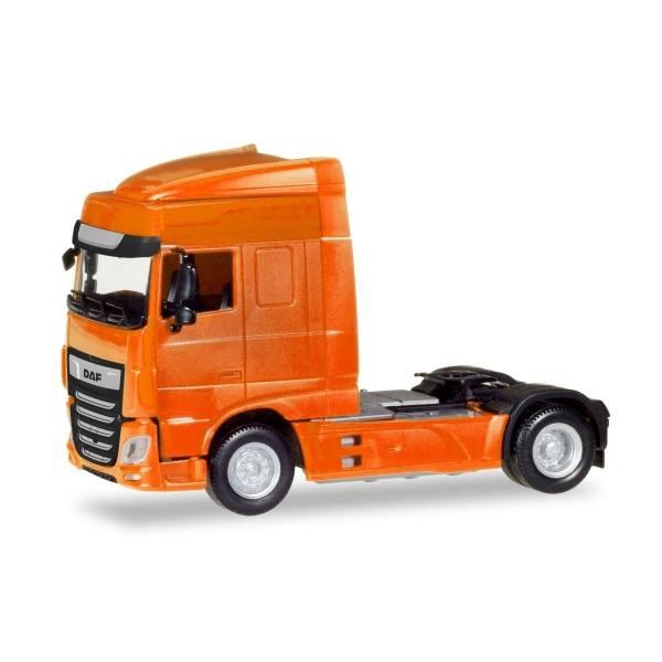 309066 - Herpa - DAF XF Euro6 SC facelift Zugmaschine, orange