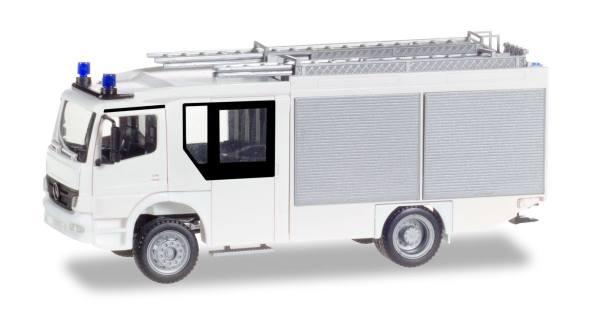 012980 - Herpa - MiniKit Mercedes-Benz Atego Ziegler Z-Cab Löschfahrzeug LF20, weiß