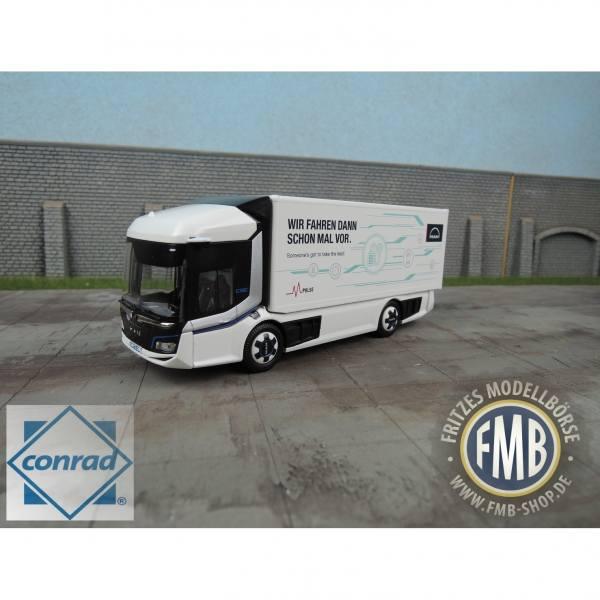 55190 - Conrad - MAN CitE Elektro-Verteiler-LKW, 2achs, weiß