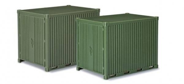 744713 - Herpa - Zubehör 10 ft. Miltär Gerätecontainer, 2 Stück