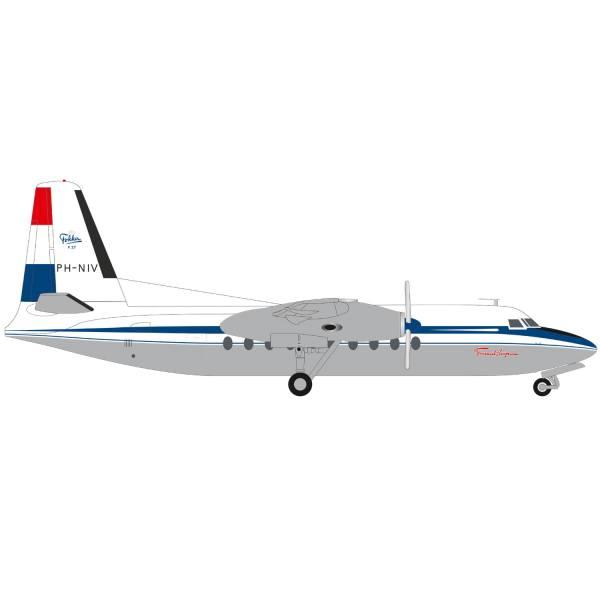 """570930 - Herpa - Fokker F27 Friendship """"1st Flight - 65th Anniversary"""""""