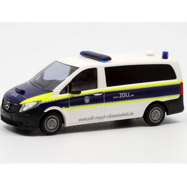 """51100-134 - Busch - Mercedes-Benz Vito Bus - Funkstreifenwagen """"Zoll / Finanzkontrolle"""""""