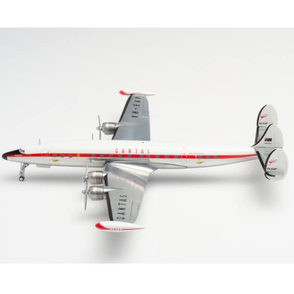 "570596 - Herpa - Qantas Lockheed L1049G Super Constellation ""Southern Zephyr"""