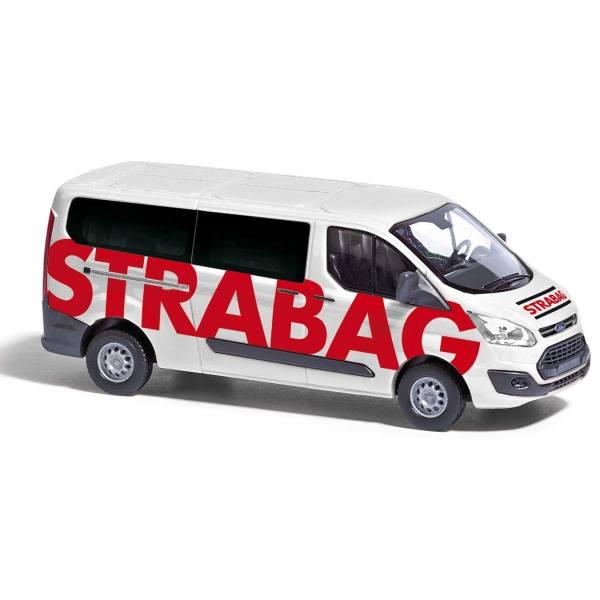 "52428 - Busch - Ford Transit Custom `12 Bus ""Strabag"""
