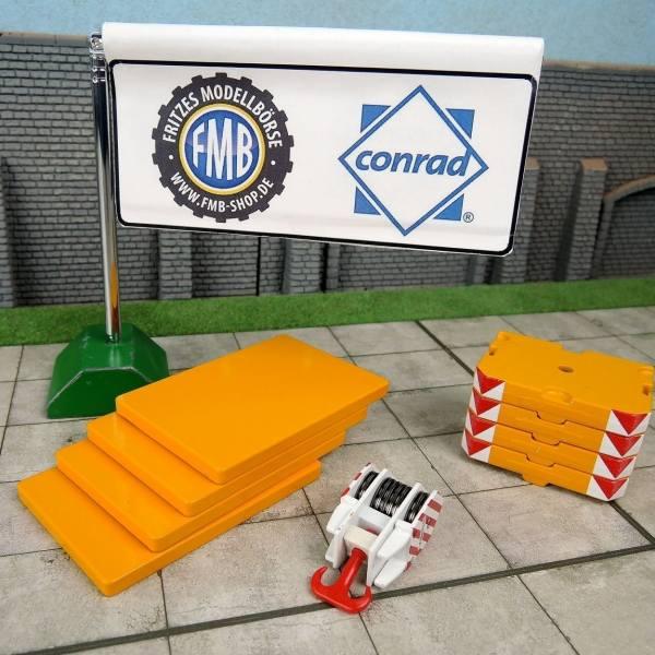 99919/01 - Conrad - Ladegut Ballastset für Terex AC 1000, gelb (RAL 1007)