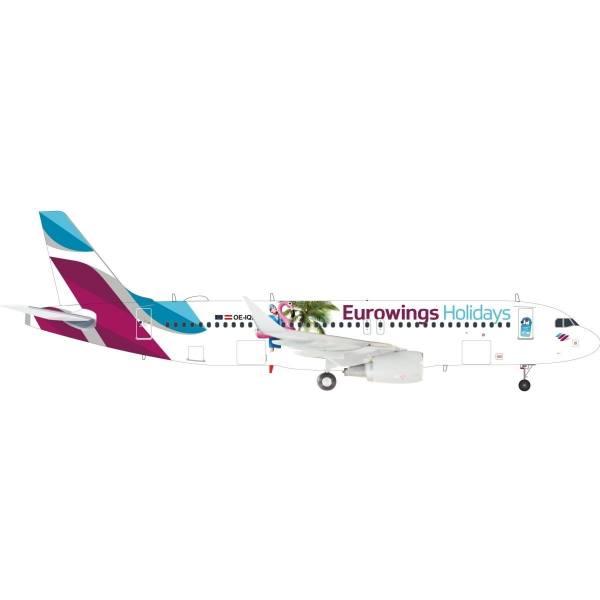"""559157 - Herpa - Eurowings  Airbus A320 """"Eurowings Holidays""""- 1:200"""