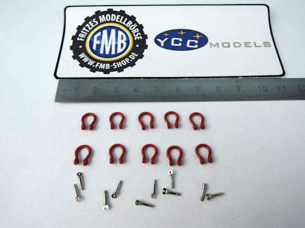 YC633-1 - YCC Models - Schäkel 50 t, rot