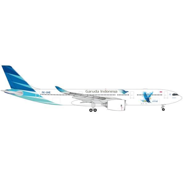 535021 - Herpa Wings - Garuda Indunesia Airbus A330-900neo - PK-GHE -