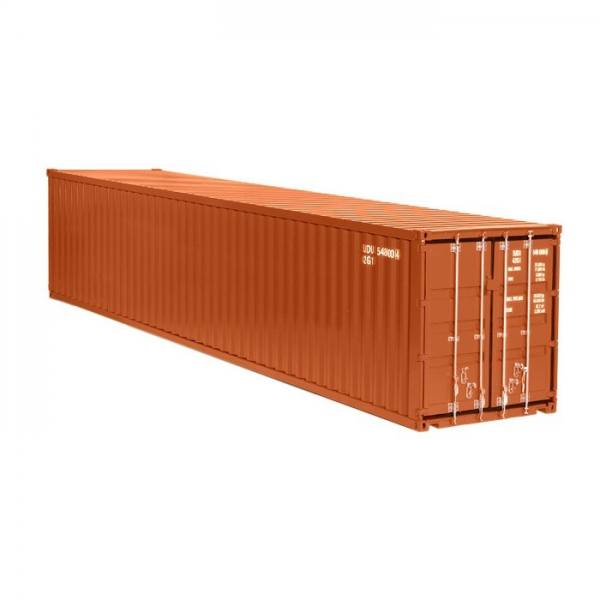 978/70 - NZG - 40ft. Container, braun