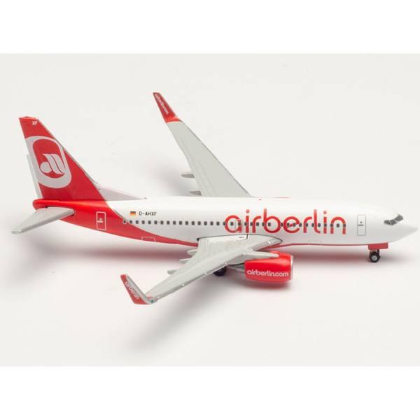 534666 - Herpa Wings - airberlin Boeing 737-700 - D-AHXF -