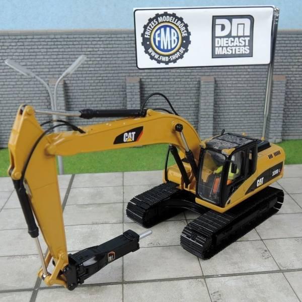 85280 - Diecast Masters - CAT 320 DL Kettenbagger mit Abbruchhammer