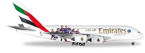 "529440 - Herpa - Emirates ""Paris St.Germain""  Airbus A380 - 1:500"