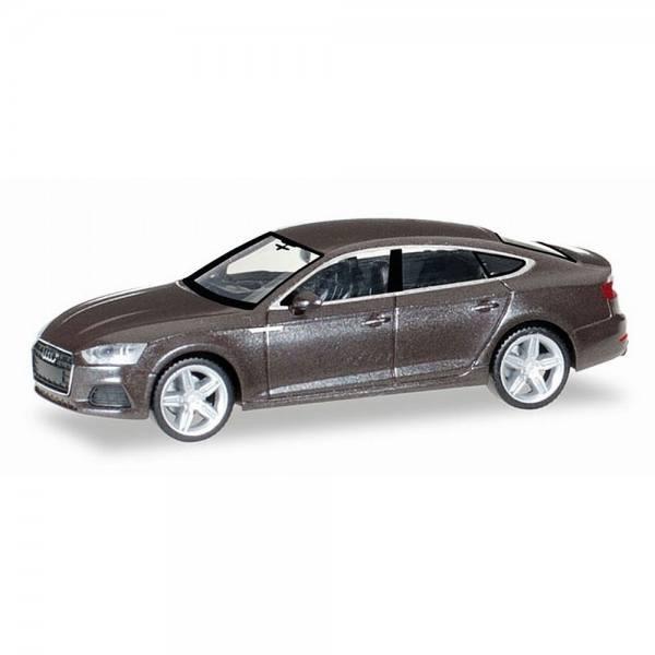 038706 - Herpa - Audi A5 Sportback, argusbraun metallic