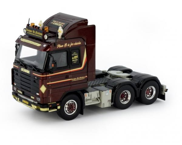 76993 - Tekno - Scania 3-serie Streamline 143 3achs Zugmaschine - Kasper H. Nielsen - DK -