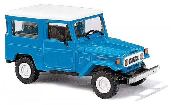 43033 - Busch - Toyota Land Cruiser J4 - blau/weiß