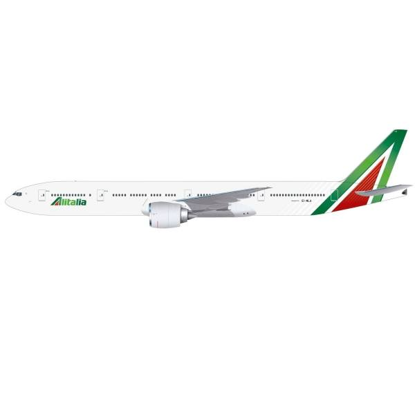 """612555 - Herpa - Alitalia  Boeing 777-300ER """"Roma"""""""