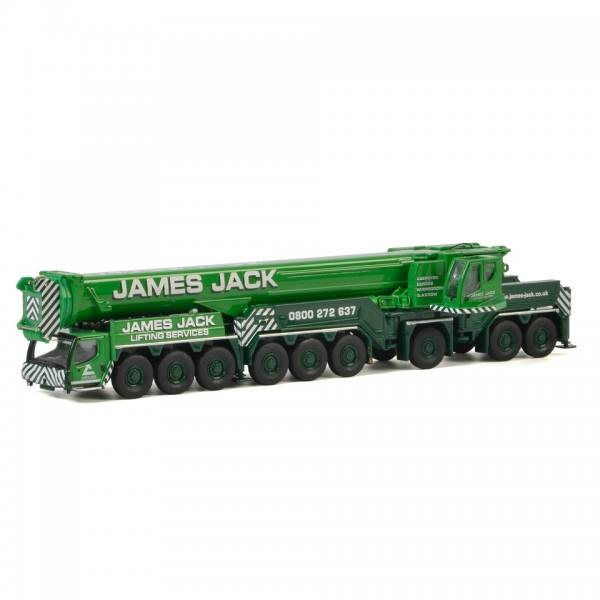71-2032 - WSI - Liebherr LTM 1750-9.1 Mobilkran - James Jack Lifting - UK -
