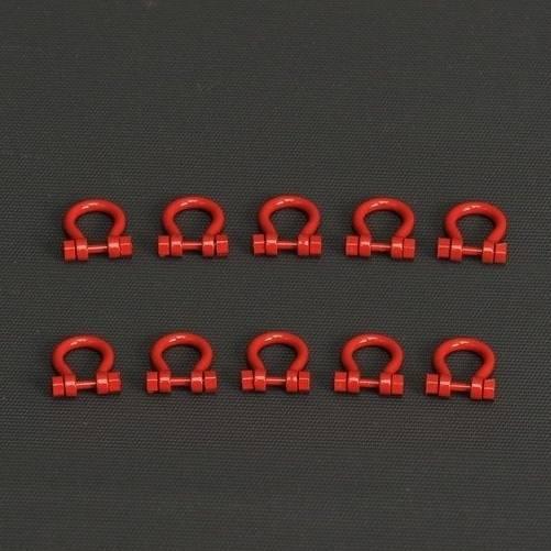 YC636-1 - YCC Models - Schäkel 200 t, 10 Stück - rot