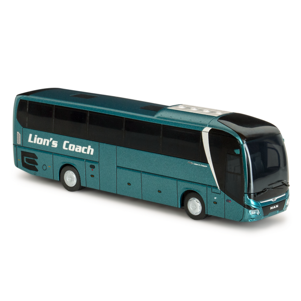 74842 - Rietze - MAN Lion''s Coach `17 mit OptiView - Reisebus, blaugrün metallic