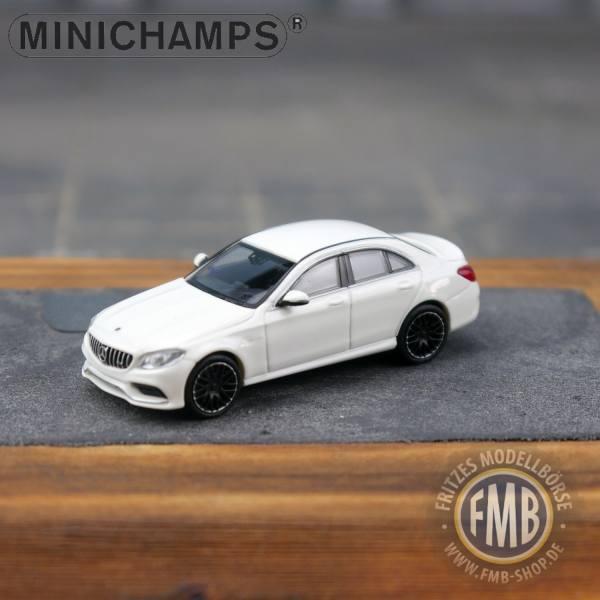 038100 - Minichamps - Mercedes-Benz AMG C 63 (2019), weiß