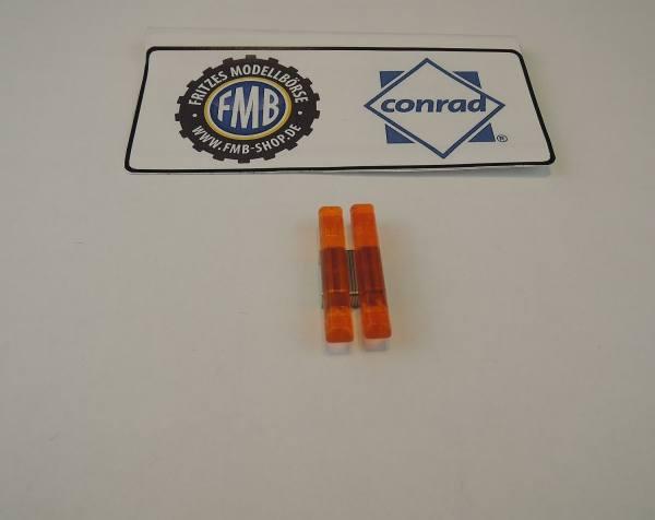 Conrad - Warnlichtbalken orange kurz 2 Stück