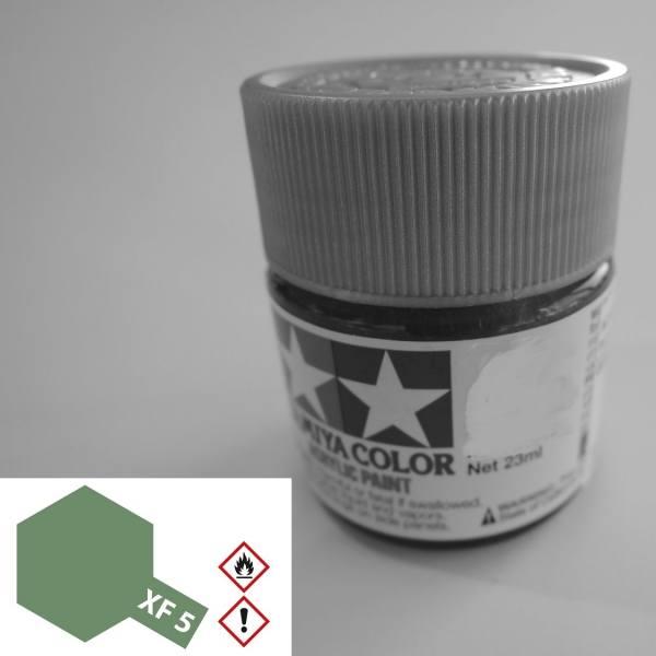 81305 - Tamiya - Acrylfarbe 23ml, grün matt XF-5