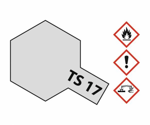 85017 - Tamiya - Aluminium Silber glänzend 100ml , Sprühdose TS-17