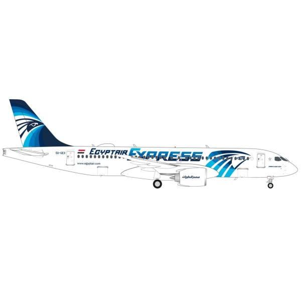 570787 - Herpa - Egyptair Express Airbus A220-300 - SU-GEX -