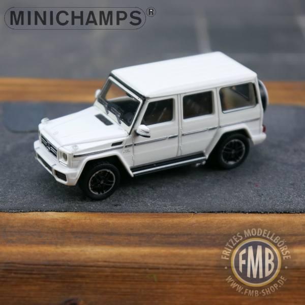037006 - Minichamps - Mercedes-Benz AMG G 65 (2015), weiß
