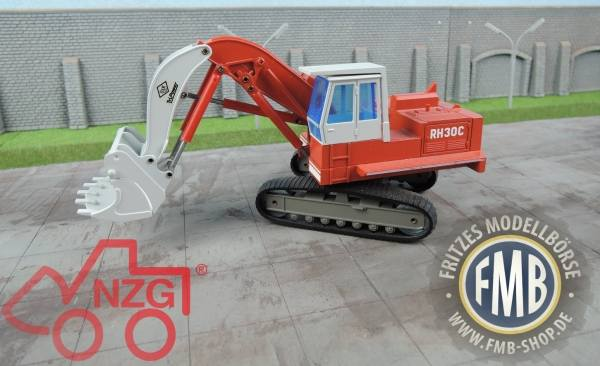 246 - NZG - O&K RH 30 C Hochlöffel Kettenbagger