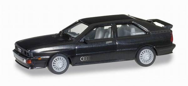 "033336-003 - Herpa - Audi Ur-Quattro metallic ""schwarz"""