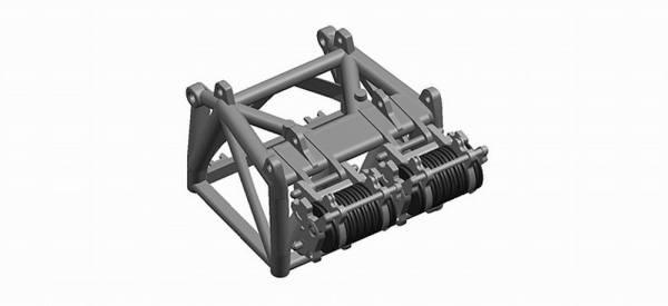053556 - Herpa - Rollenpaket für 600 Tonnen Hakenflasche LR1600/2 -grau-