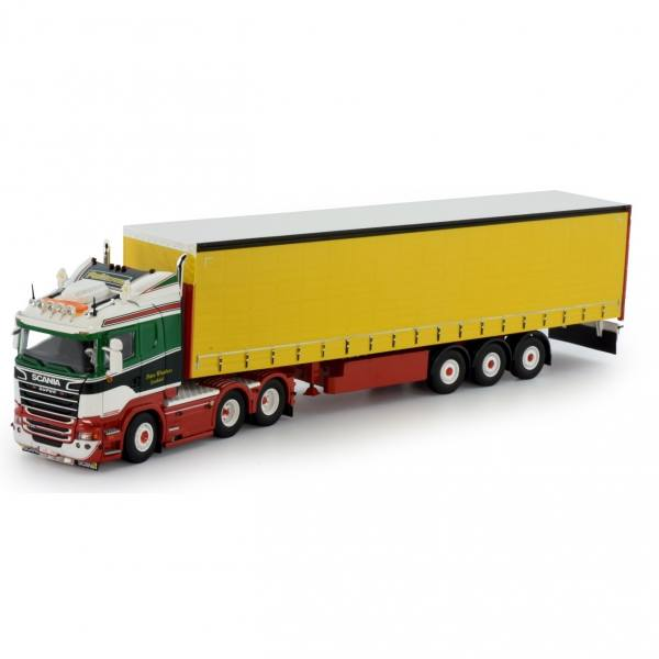 75678 - Tekno - Scania R serie HL mit 3achs Planenauflieger - Peter Wouters - B -