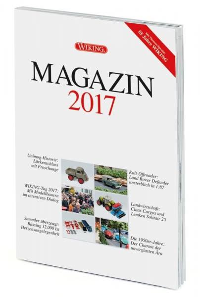 000624 - Wiking - WIKING-Magazin 2017