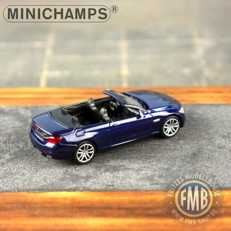 2015 Minichamps BMW M4 Cabriolet 870 027230-1:87 grau metallic