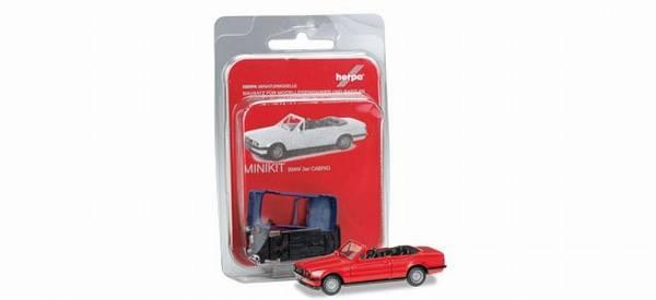 "012225-005 - Herpa - MiniKit BMW 3er Cabrio (E30) ""rot"""