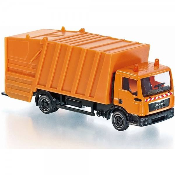 077429 - Wiking - MAN TGL Pressmüllwagen, kommunalorange - RC Modell - Control87