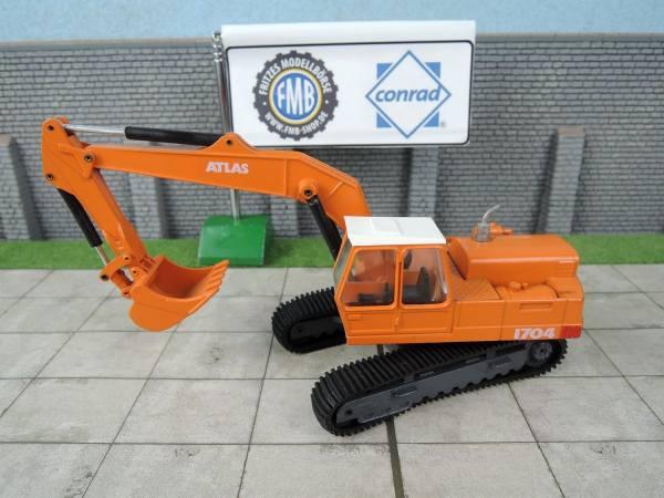 2902 - Conrad - Atlas 1704 T Kettenbagger - ohne Karton -