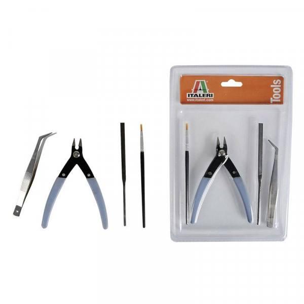 50830 - Italeri - Werkzeug-Set Beginner für Plastik Modellbau