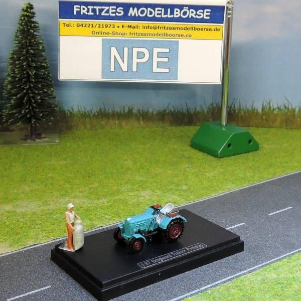 99021 - NPE - Borgward Traktor Prototyp -grün-