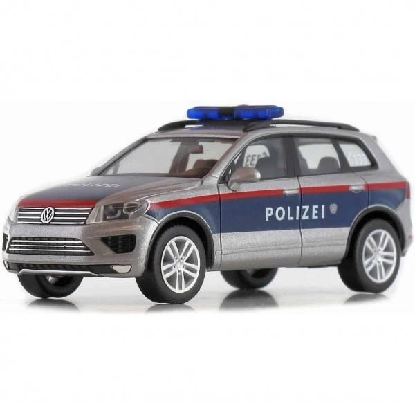 """932271 - Herpa - VW Touareg Funkstreifenwagen """"Polizei Österreich"""" AT"""
