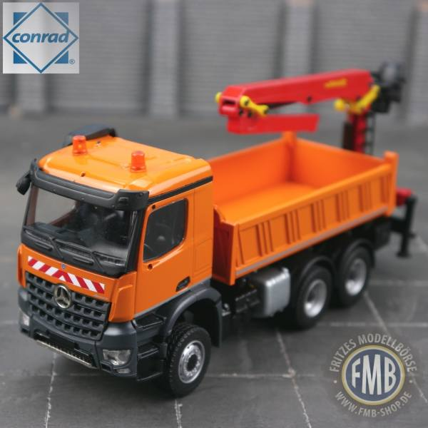 78223/0 - Conrad - Mercedes-Benz Arocs 3achs mit Ladekran Palfinger / Epsilon
